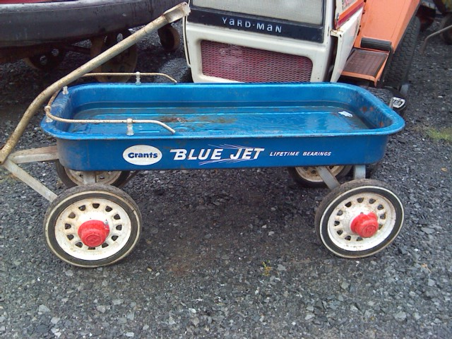 Grants Blue Jet Lifetime Bearings wagon | The Classic and Antique