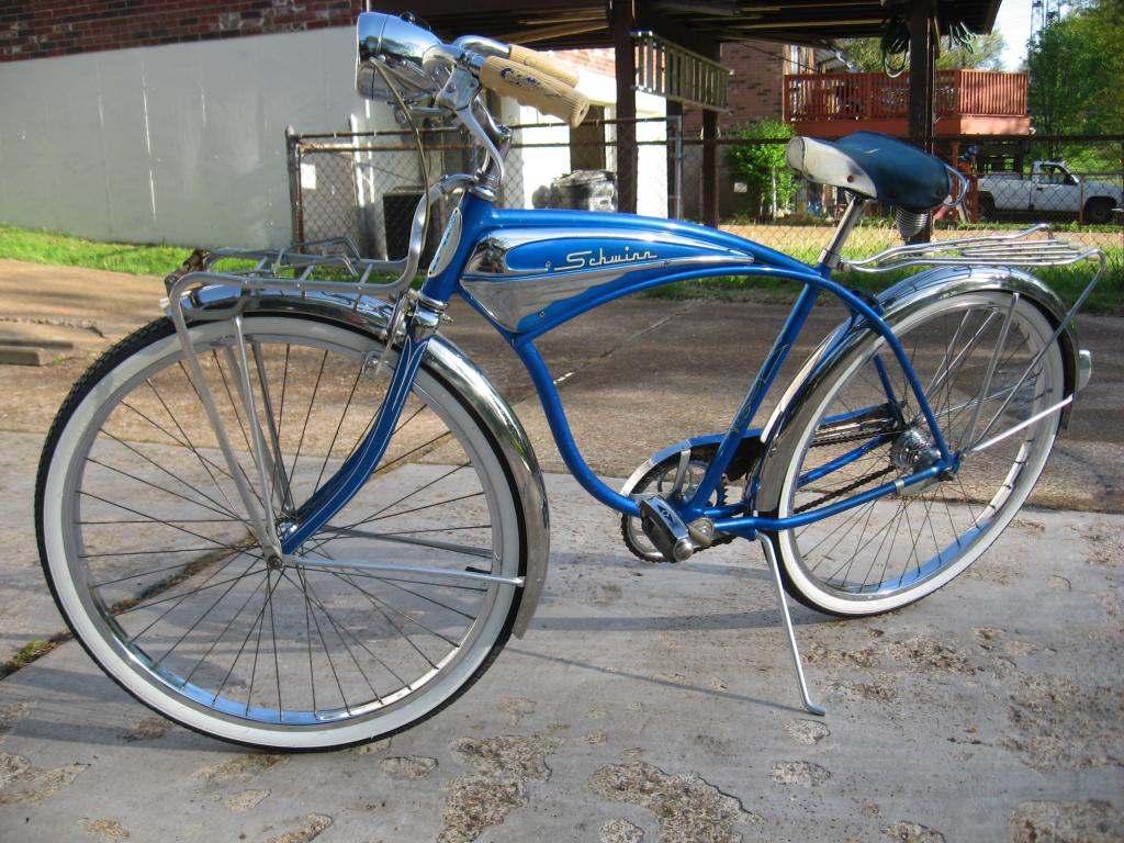 76694eb8553 my radiant blue 1959 schwinn jaguar markIV | The Classic and Antique ...