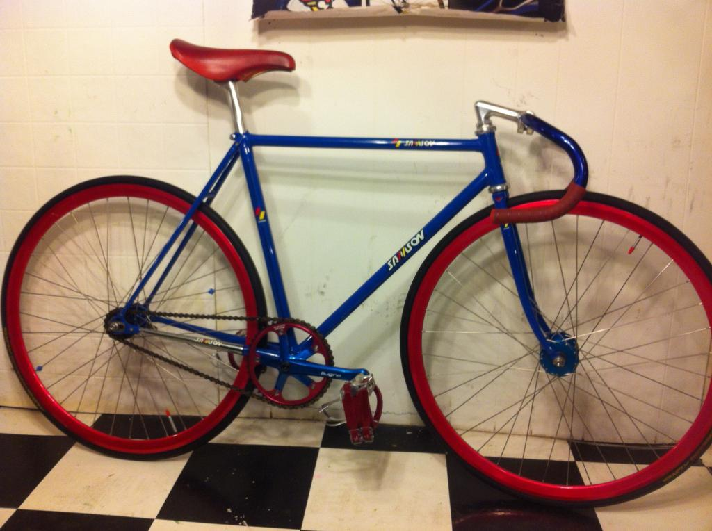 Samson Japanese NJS Keirin Track BIke | The Classic and Antique ...