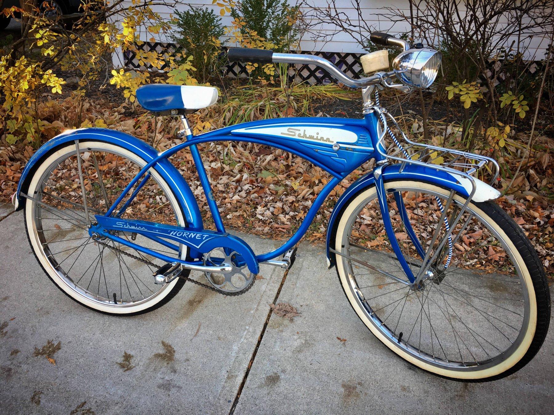 Schwinn Bicycle Painting : Bfgoodrich schwinn hornet barn find the classic