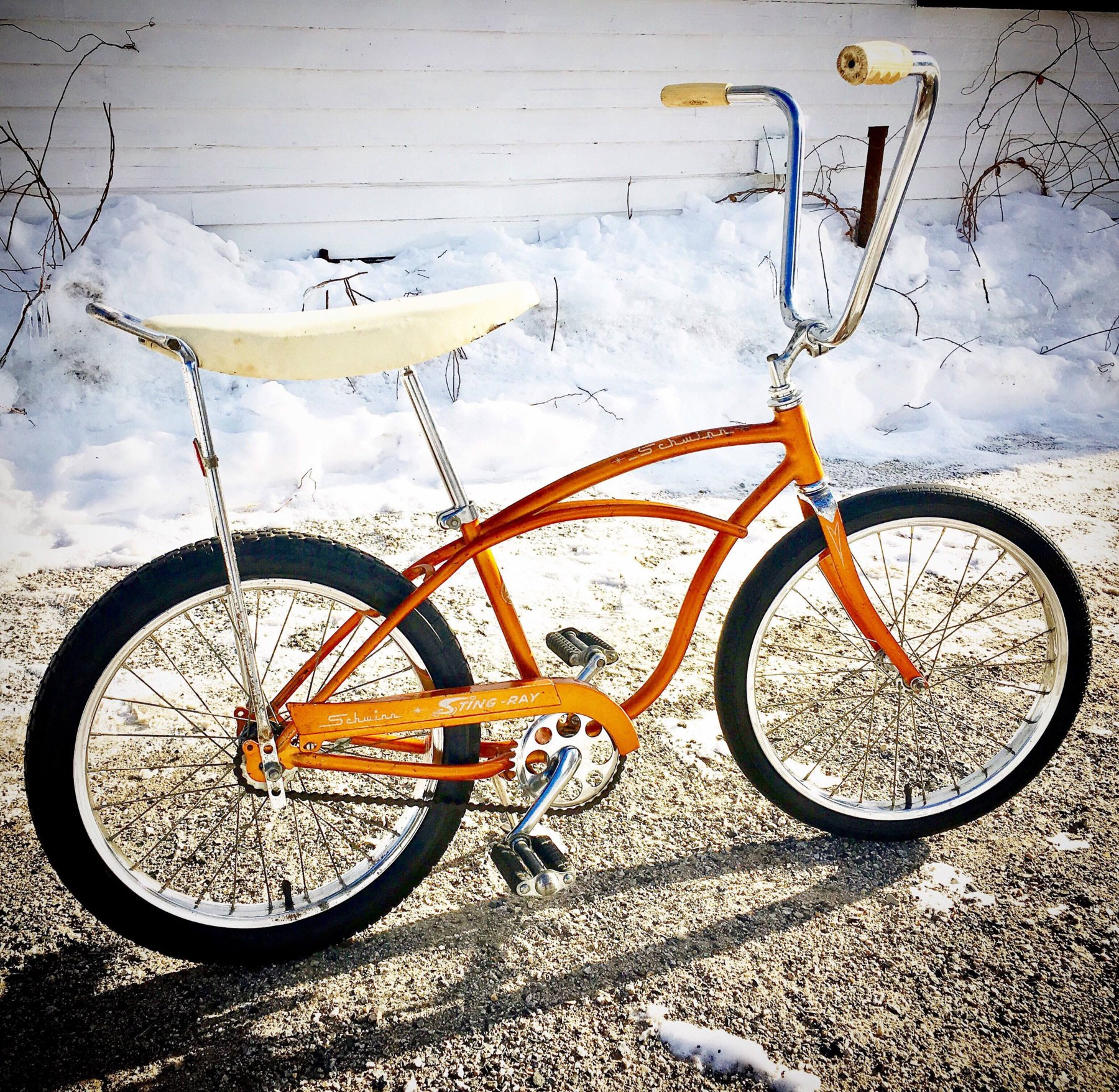 1964 schwinn stingray coppertone the classic and antique bicycle exchange. Black Bedroom Furniture Sets. Home Design Ideas