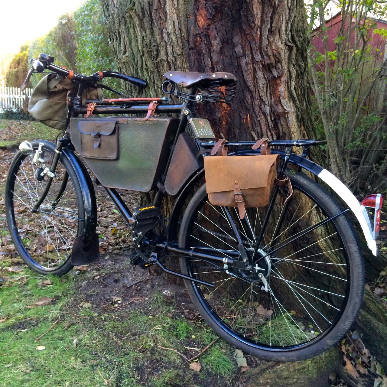 Wwii Era Swiss Military Bike W Frame Bag The Classic