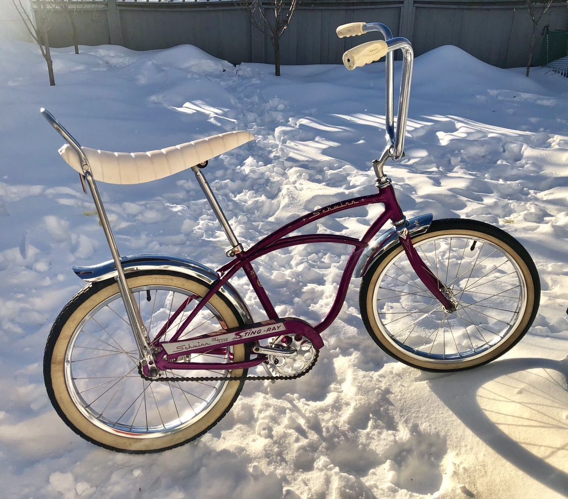 9759c6d9563 1965 Schwinn Deluxe Stingray Opal | The Classic and Antique Bicycle ...