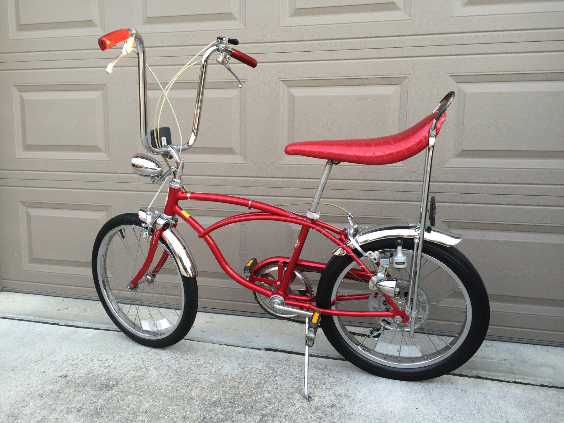 Sold - 1977 Schwinn Stingray 5 Speed Muscle Bike - Excellent