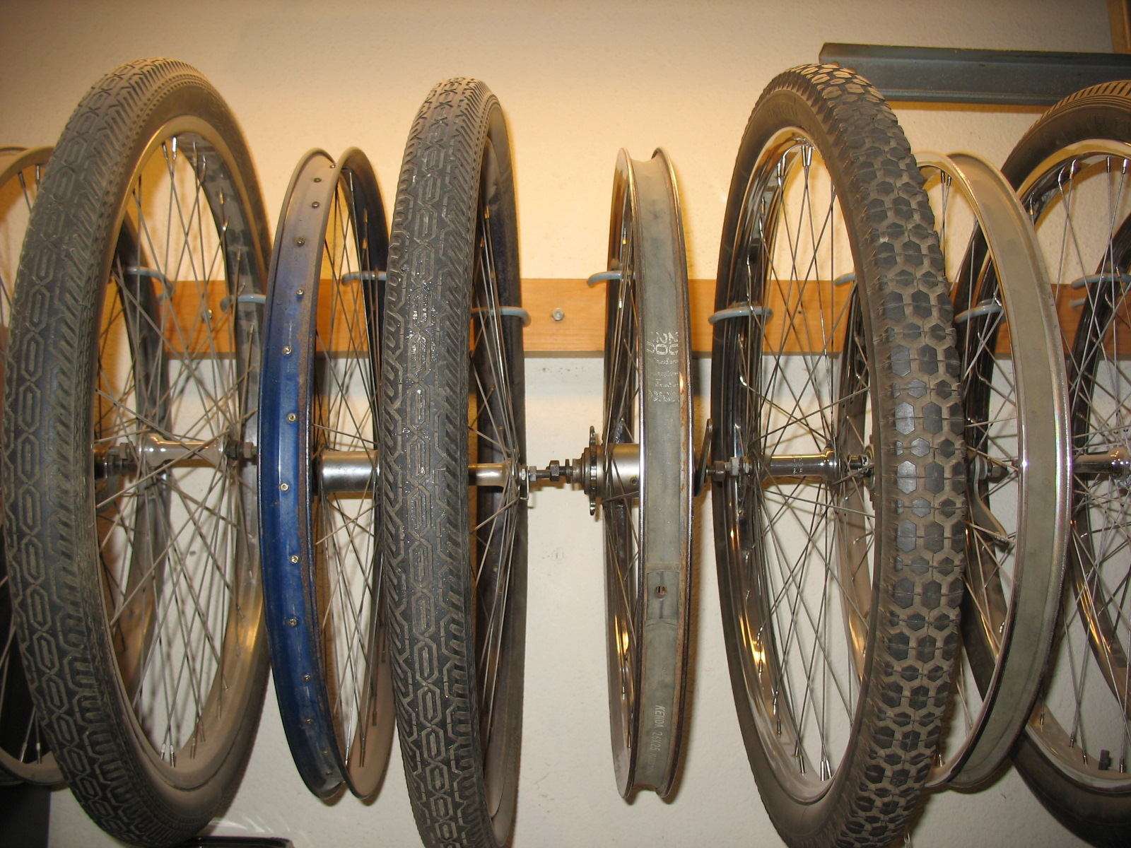 How Do You Store Your Wheels The Workshop The Classic And Antique Bicycle Exchange