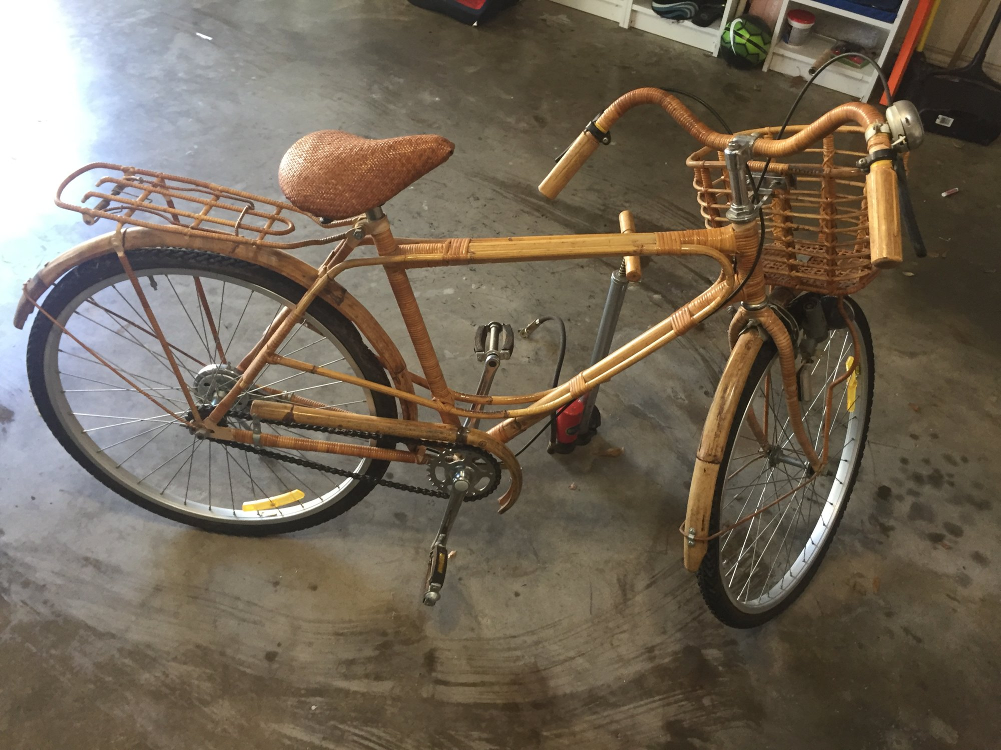 Bamboo Bicycle The Classic And Antique Bicycle Exchange