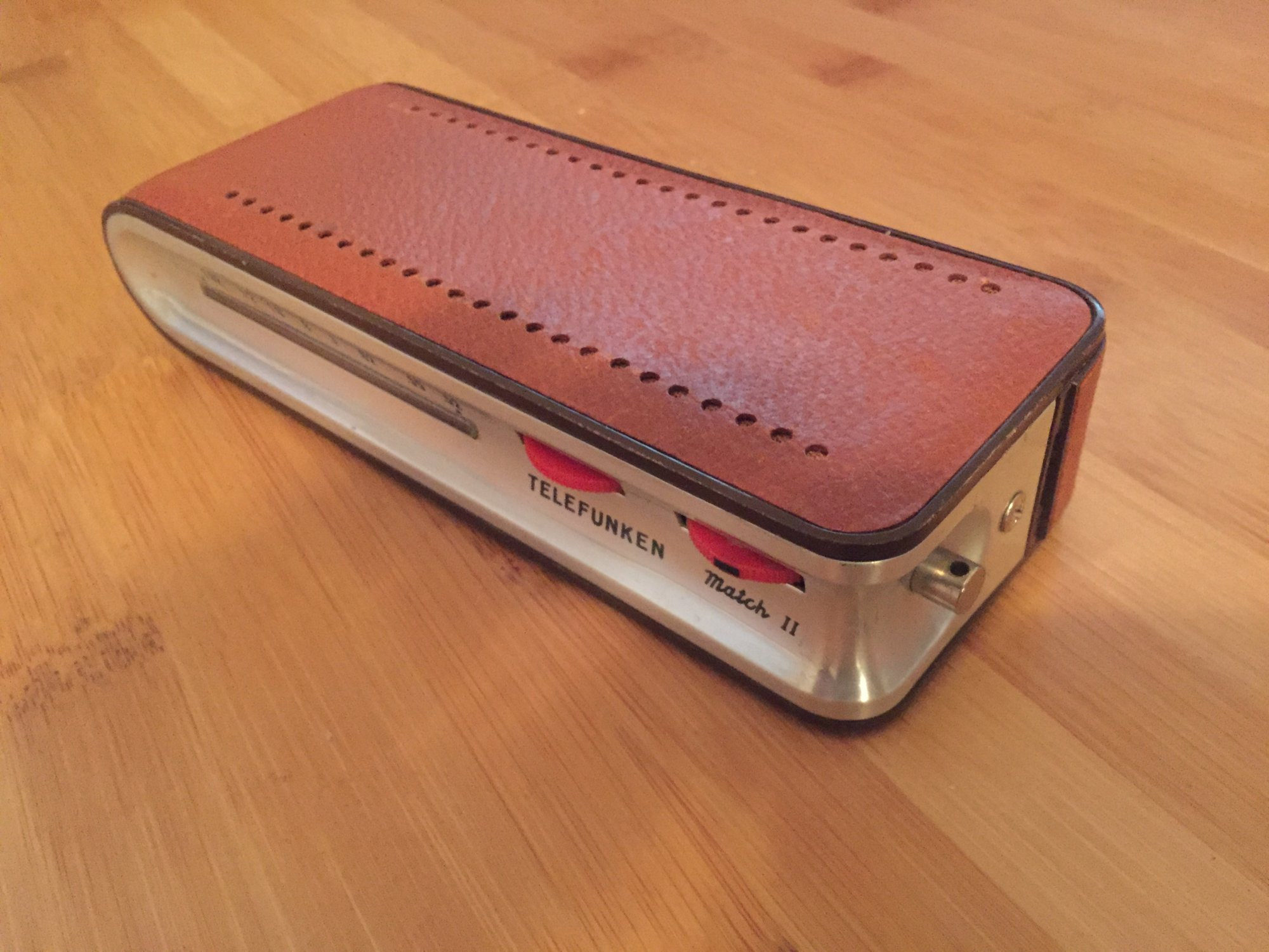 Telefunken Match Ii Transistor Radio 60 Shipped The Classic And One I Have A That Is In Working Order At Time It Had Strap But Somehow Got Lost