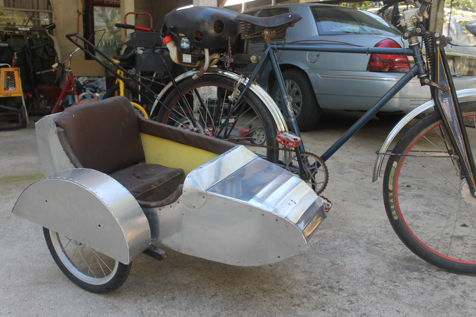 Fido may need a sidecar | The Classic and Antique Bicycle