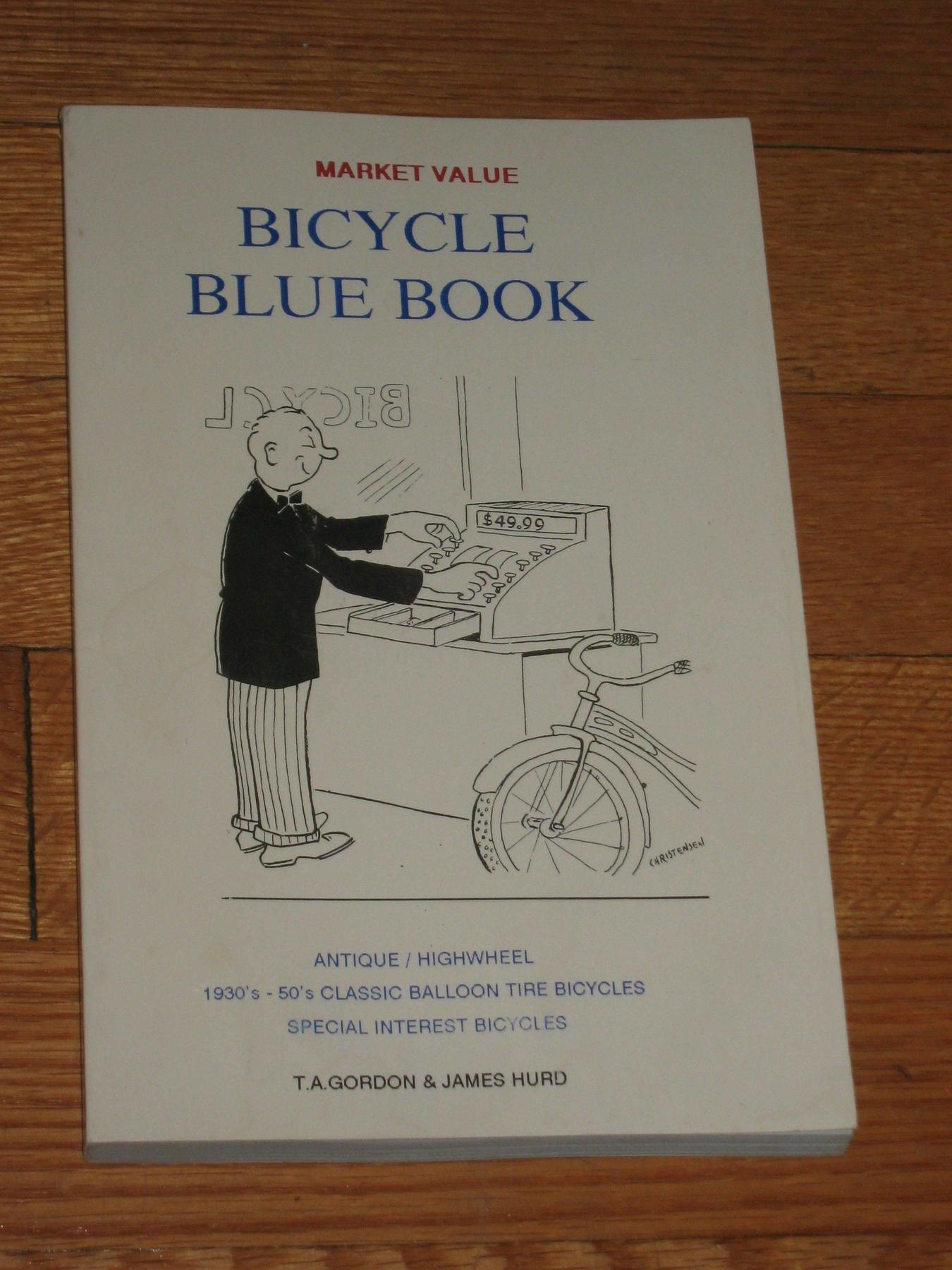 Bicycle Blue Book Value >> Fs Bicycle Blue Book 1993 1995 Sold The Classic And