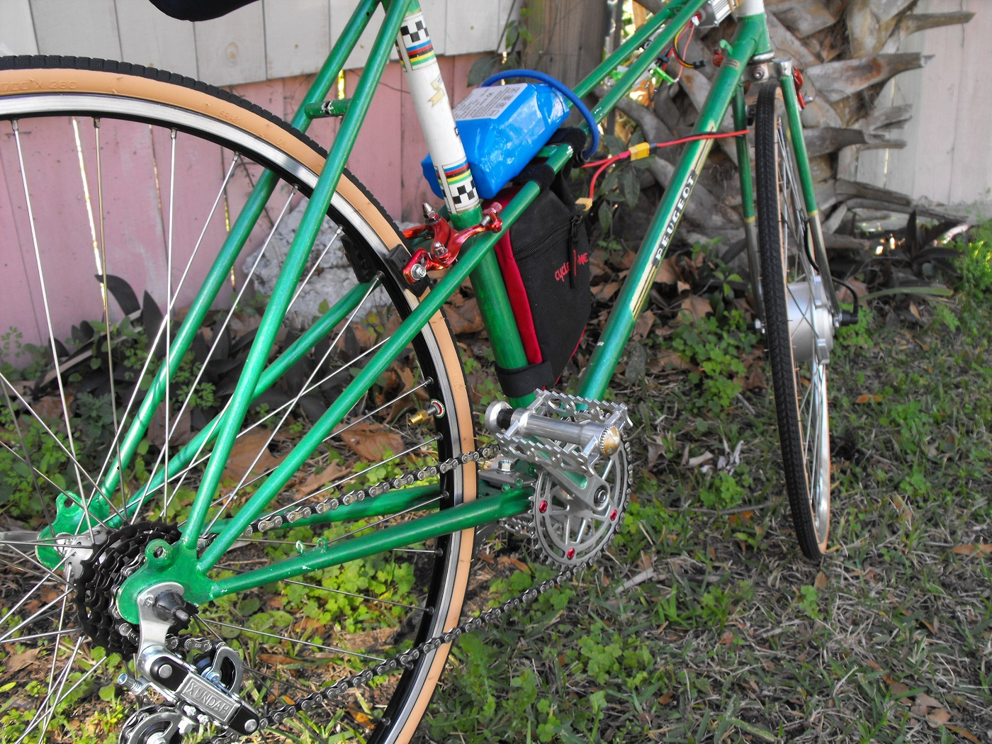Peugeot Mixte electric taking shape | The Classic and Antique