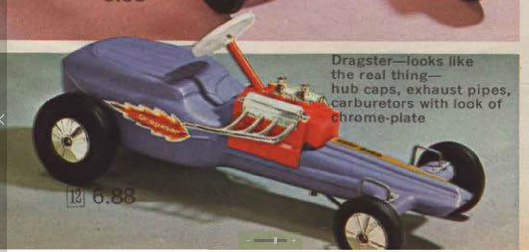 purple dragster 1966 JCPenney book.JPG