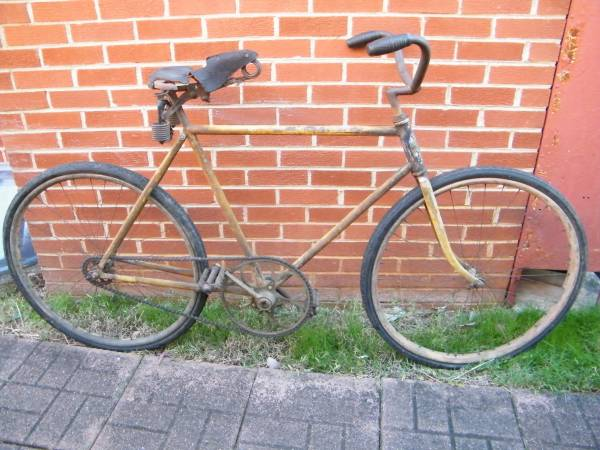 Antique Bicycle, 1911 , Racycle , can be restored , bicycle