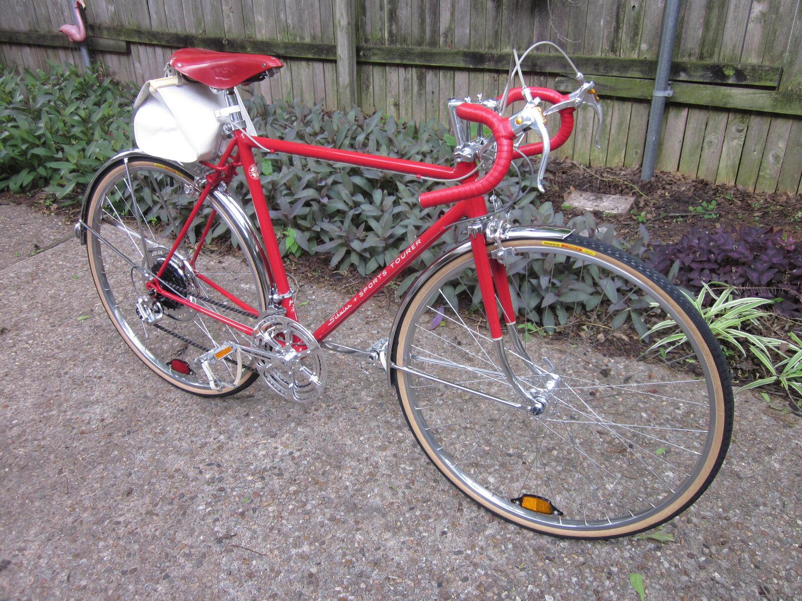 Red Brooks and bikes 019.JPG