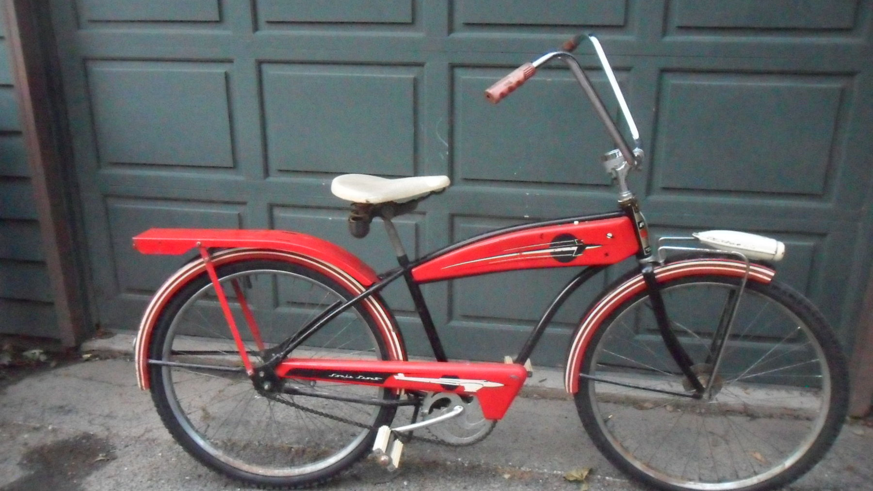 Sold 1950 S Evans Colson Scout Tank Bike F S The Classic