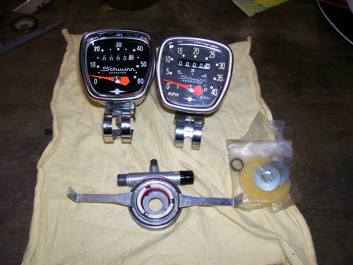 Schwinn Lightweights Speedometers Drives Cables And