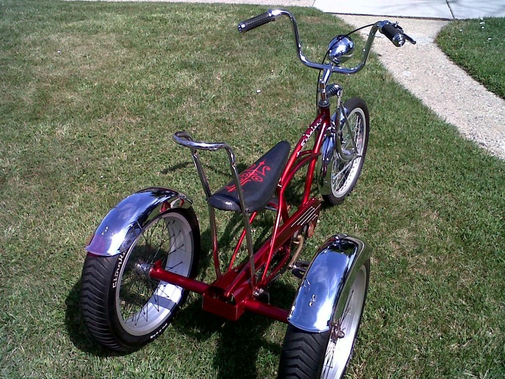 Schwinn Tricycle Parts : Pictures of my schwinn stingray trike the classic and