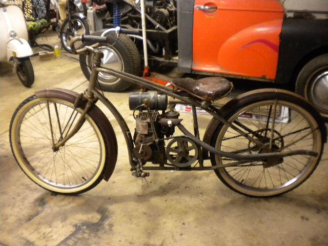 1948 Sears Roebuck Motorized Bike The Classic And