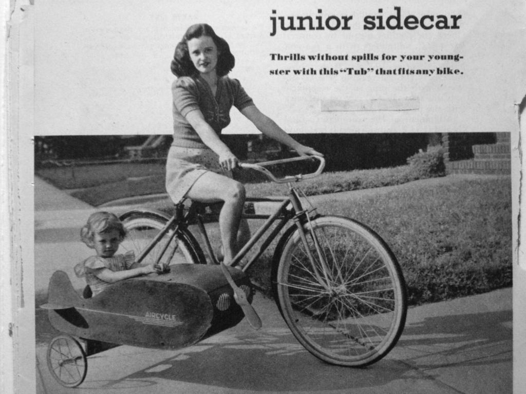 Vintage sidecar for bicycle | The Classic and Antique