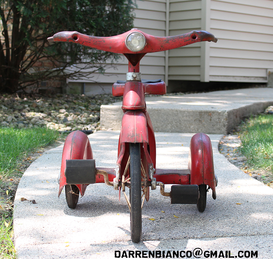 Original 1930s Junior Toy Co  SKY KING VELOCIPEDE Tricycle