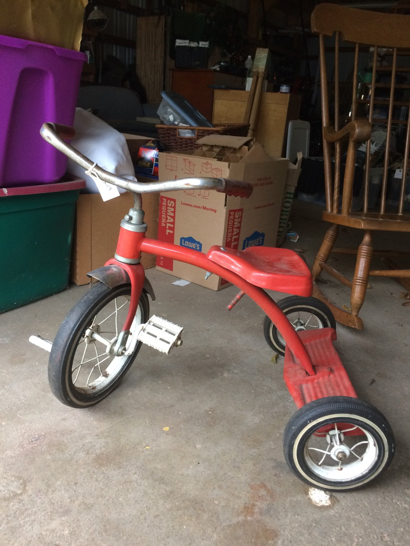 what is it?!- tricycle found at garage sale | The Classic and ...