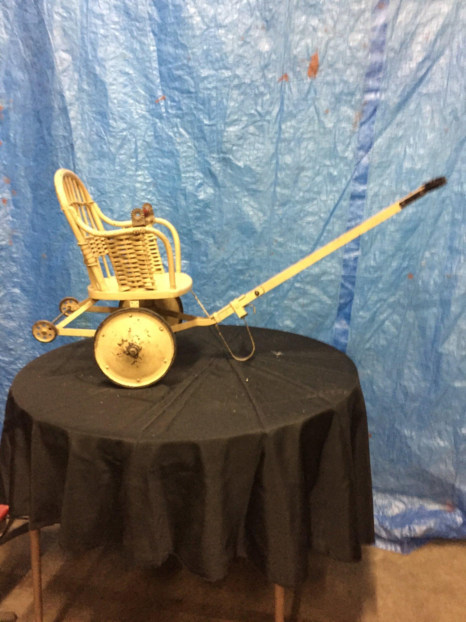 Vintage Baby Stroller with pull handle - $135.jpg