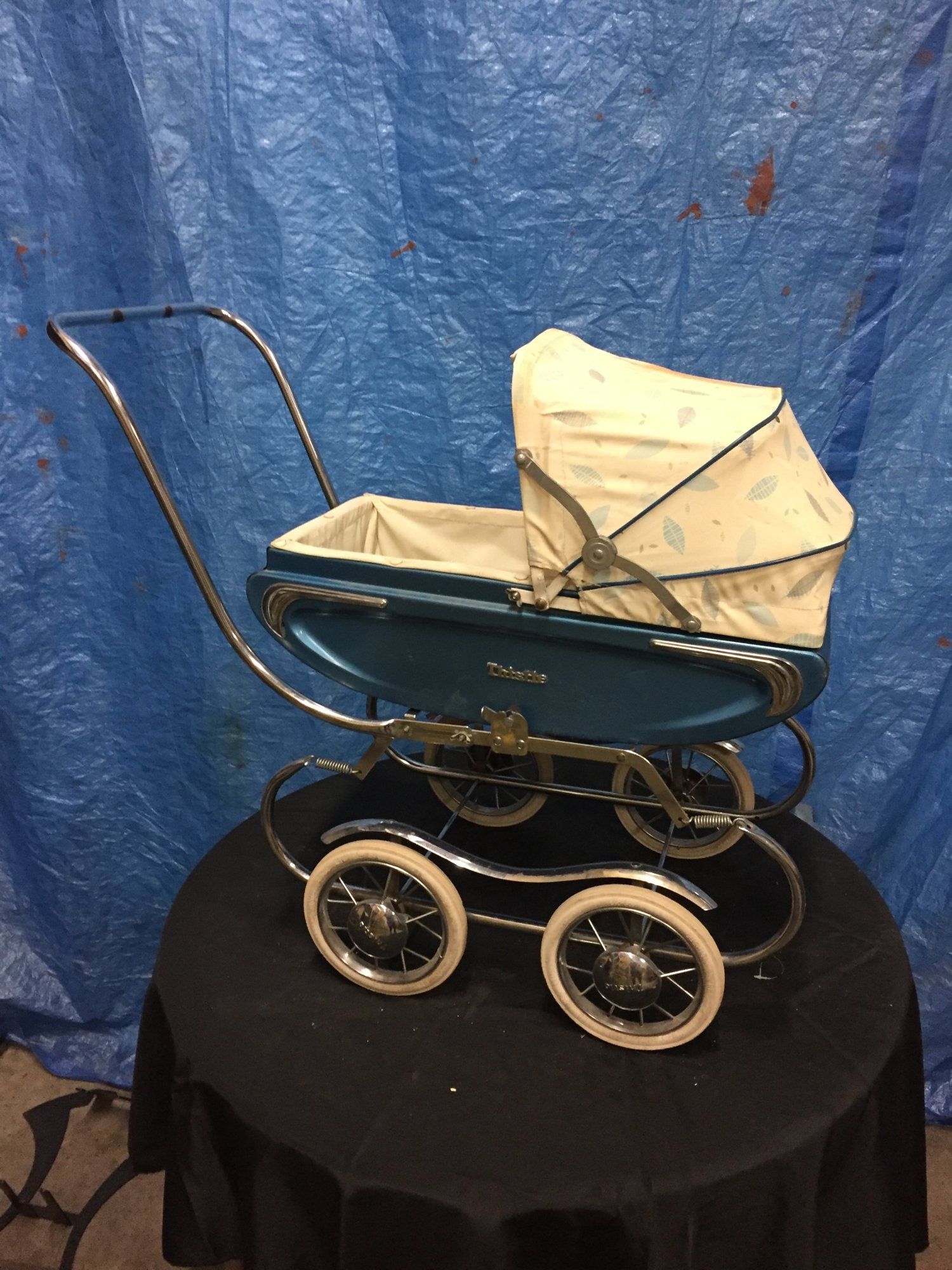 Vintage Gendron Doll Buggy 1960's - $75.jpg