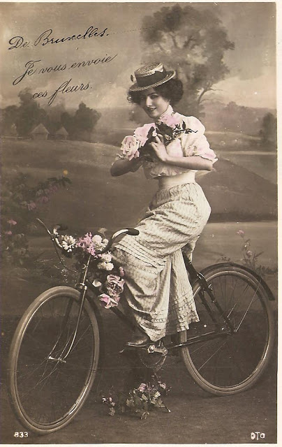 Vintage Photos of Ladies with Bicycles (13).jpg