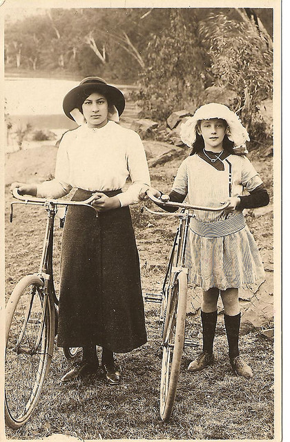 Vintage Photos of Ladies with Bicycles (14).jpg