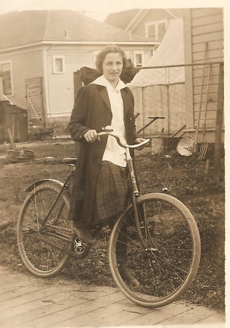 Vintage Photos of Ladies with Bicycles (16).jpg