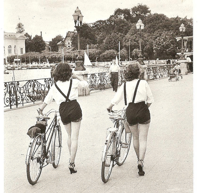 Vintage Photos of Ladies with Bicycles (2).jpg