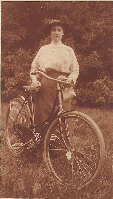 Vintage Photos of Ladies with Bicycles (20).jpg