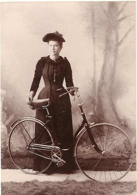 Vintage Photos of Ladies with Bicycles (24).jpg