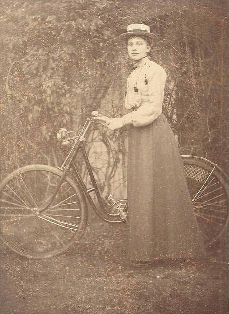 Vintage Photos of Ladies with Bicycles (25).jpg