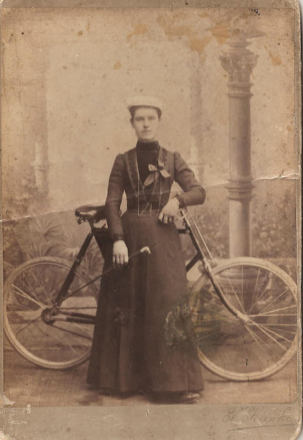 Vintage Photos of Ladies with Bicycles (26).jpg