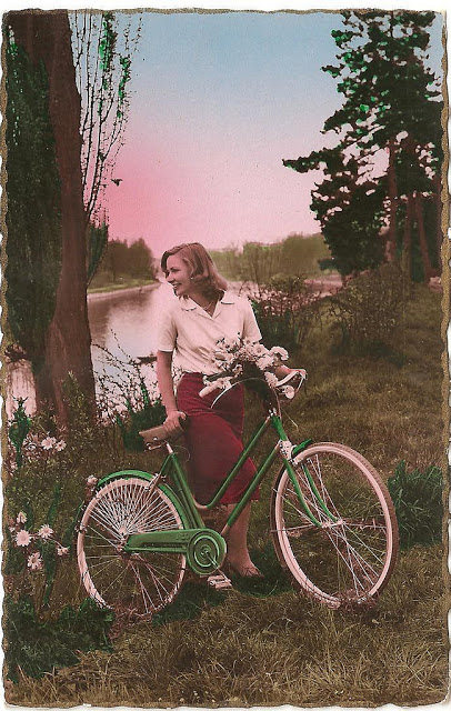 Vintage Photos of Ladies with Bicycles (27).jpg