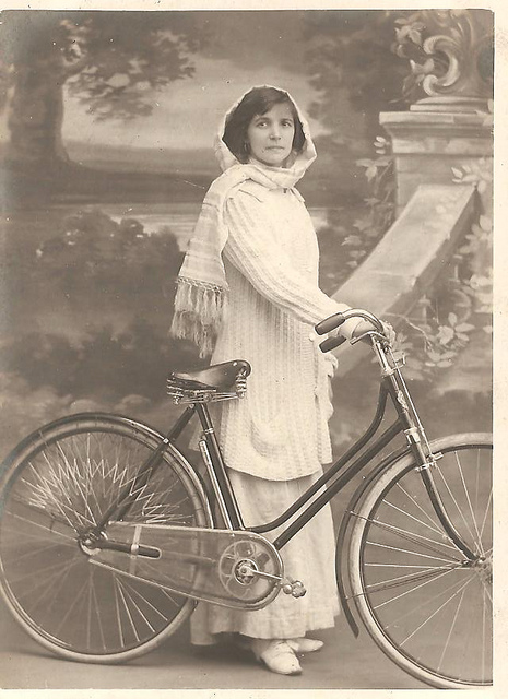 Vintage Photos of Ladies with Bicycles (6).jpg