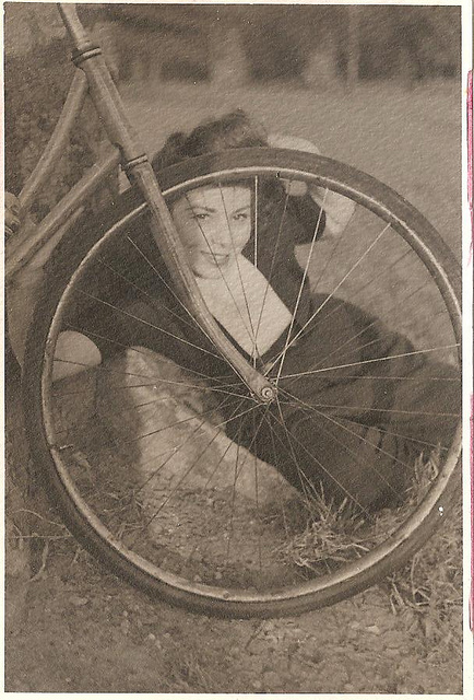 Vintage Photos of Ladies with Bicycles (8).jpg