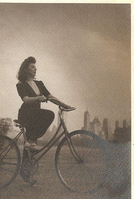 Vintage Photos of Ladies with Bicycles (9).jpg