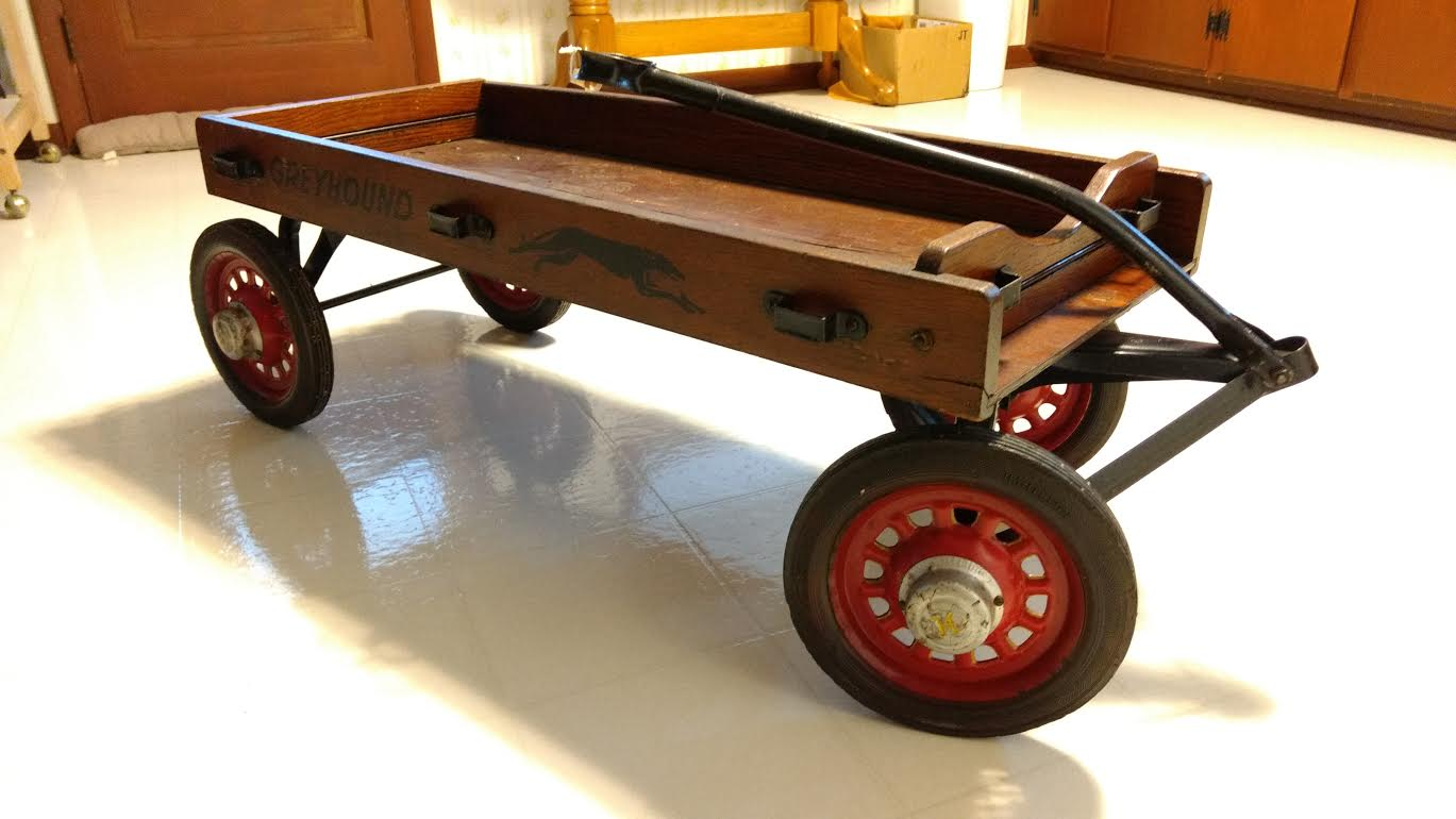 Wagons For Toys : Toy wooden wagon wheels the