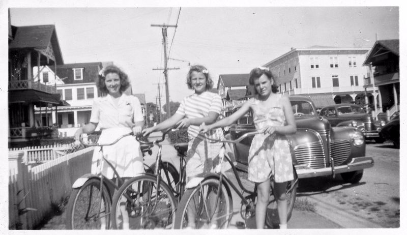 Young Girls Riding Bicycles in the 1940s (25).jpg