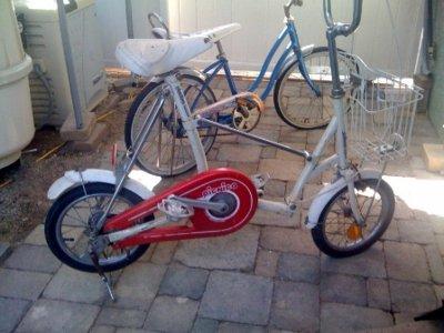 Bridgestone Picnica Folding Bike Help The Classic And Antique