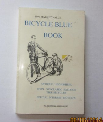 Bicycle Blue Book Value >> Bicycle Blue Book Market Value The Classic And Antique Bicycle