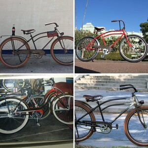 bikes then and now