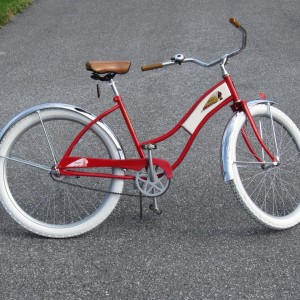 My Indian Tribute Bicycle.
