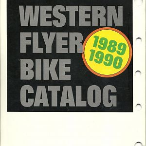 Western Auto 1989-1990 Bicycle Catalog