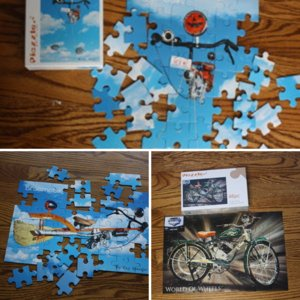 Idea for gifts--puzzle from picture.