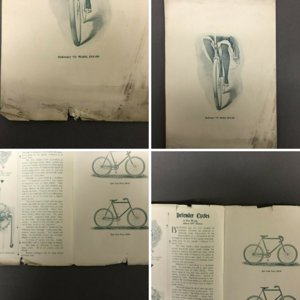 1897 Defender Bicycles Catalog