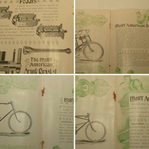 1896 Wolff - American Bicycle Catalog