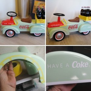 Coca Cola Speedster Ride on Prototype