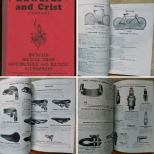 1920s EDWARDS and CRIST Bicycle And Motorcycle Catalog